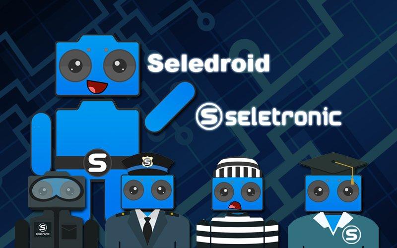 Seledroid mascote Seletronic