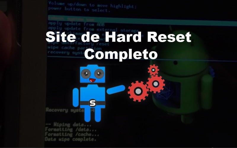 Imagem de Site de Hard Reset – Uma área todinha na Seletronic só sobre Hard Reset