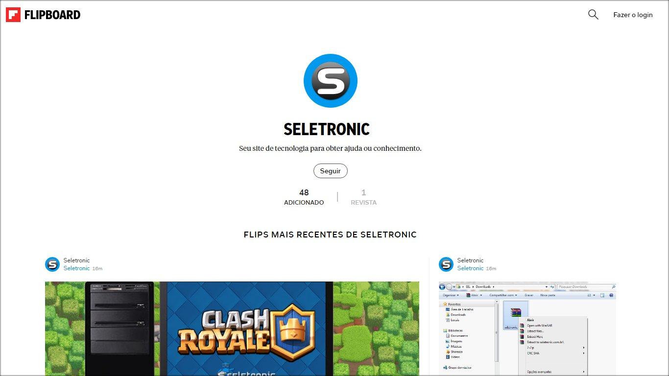 Seletronic no Flipboard