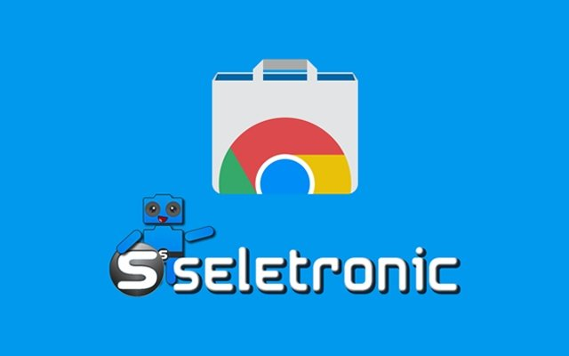 Chrome Store Icon bag tech seletronic download extensão