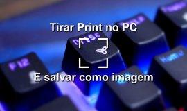 Imagem de Como tirar print da tela no computador e salvar como uma imagem.