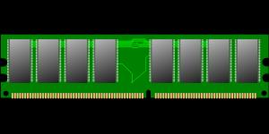 Imagem de memoria RAM sem marca