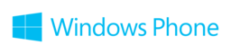 Windows phone logo png 256x60