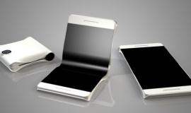 Imagem de Um Samsung para dobrar o futuro á 180 Graus