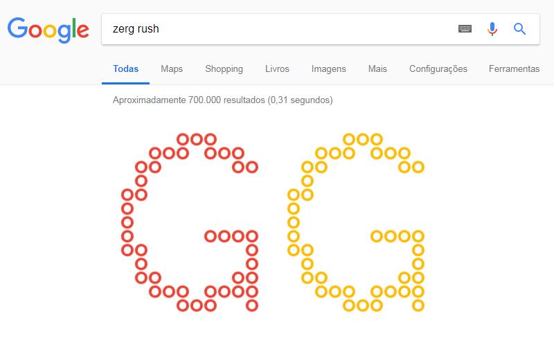 Imagem de Zerg Rush – Já pesquisou isso no Google?