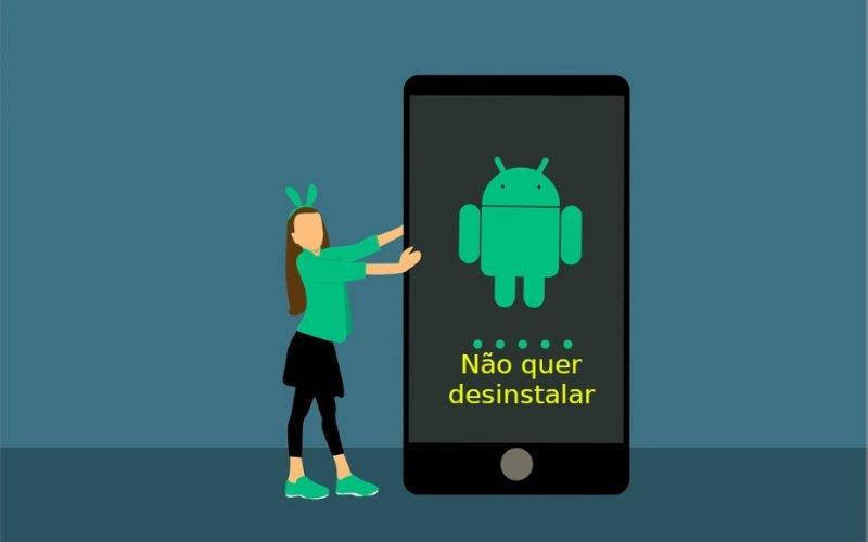 Imagem de Como desinstalar aplicativo que não quer desinstalar no Android