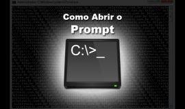Imagem de Como abrir o Prompt de comando no Windows – Várias formas