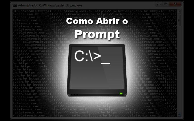 Imagem de 3 Formas de abrir o Prompt de comando no Windows
