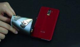Imagem de Elephone S9 e o vídeo do Smartphone com tela dobrável