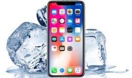 Imagem de IPhone X pode não funcionar corretamente no frio