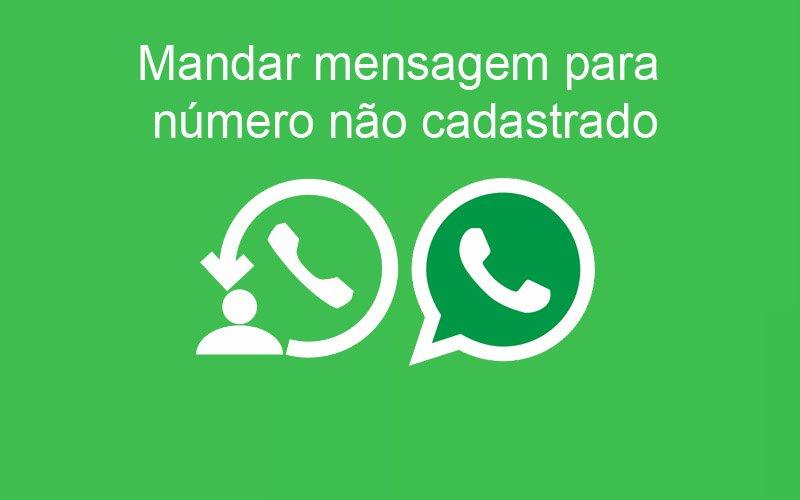 Imagem de Whatsapp: Envie mensagem para um número que não está na agenda
