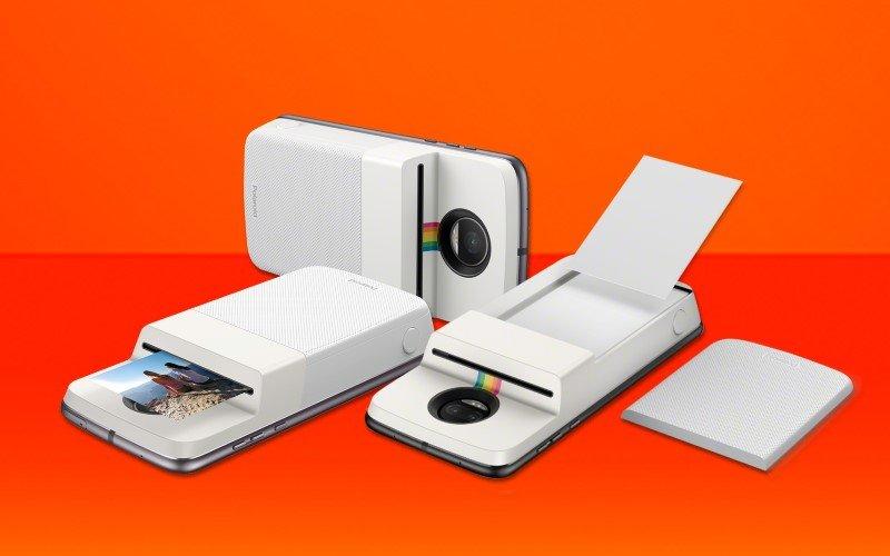 Imagem de Motorola lança Moto Snap Polaroid que imprimi fotos no celular