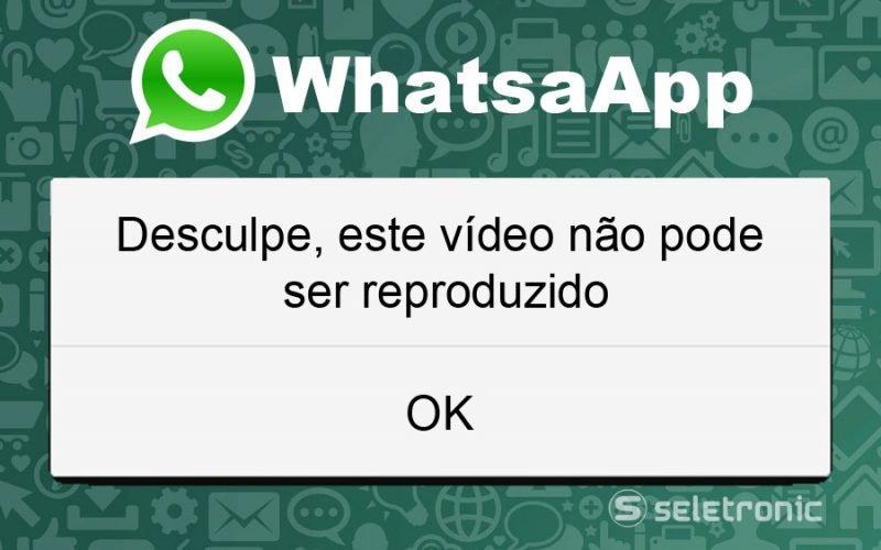 Imagem de Seu celular nao reproduz video do WhatsApp? Veja como resolver!