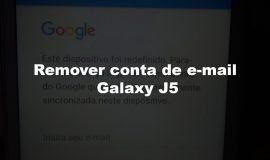 Imagem de Como remover a conta e-mail do Google no Samsung Galaxy J5 sem PC Android 6.0.1