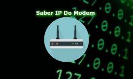 Imagem de Como descobrir endereço IP do Modem ou Roteador