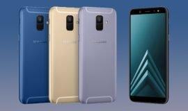 Imagem de Samsung anuncia novos smartphones Galaxy  A6 e A6+