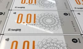 Imagem de Notas de Bitcoin são lançadas em Singapura