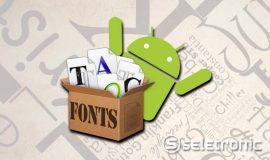 Imagem de Como mudar a Fonte das Letras no Android sem root