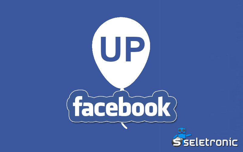 Imagem de O que significa UP no facebook?