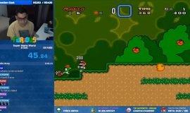Imagem de Super Mario World é zerado em 45 segundos em novo recorde Brasileiro