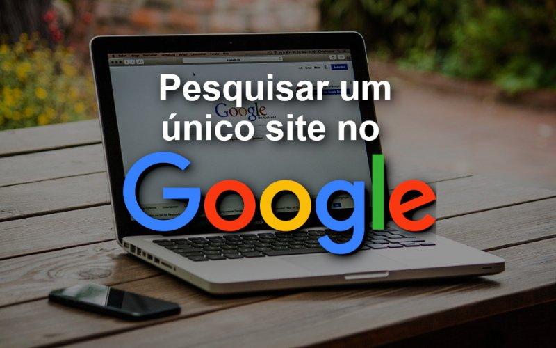 Imagem de Como pesquisar os resultados de um único site no Google