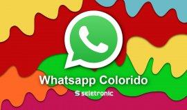 Imagem de Como deixar o Whatsapp colorido?