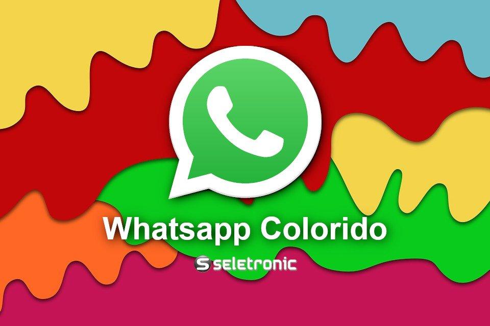 Baixar whatsapp colorido