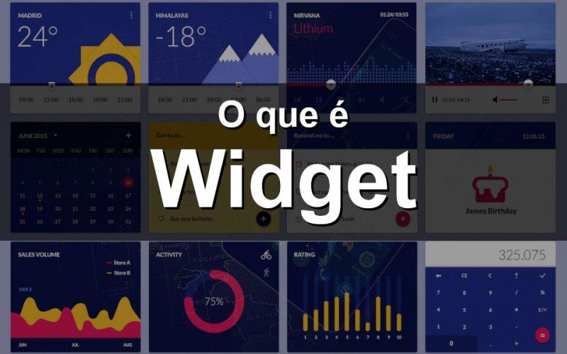 Imagem de O que é Widget?