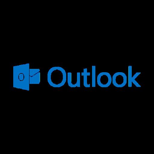 Outlook logo ícone png transparente