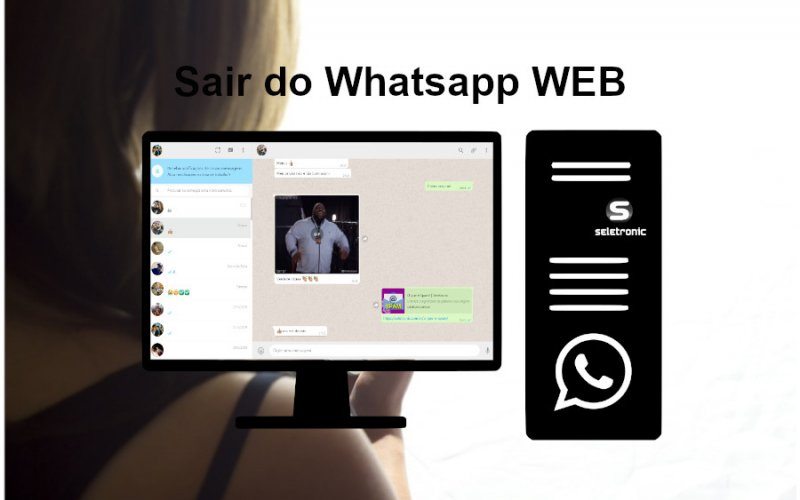 Imagem de Como se desconectar do Whatsapp Web sem estar no computador