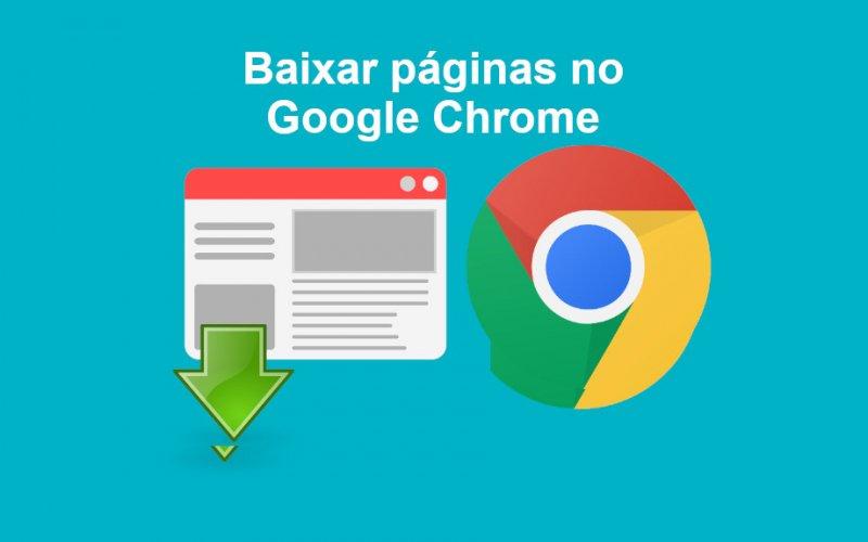 Imagem de Aprenda como salvar uma página web completa no navegador Google Chrome