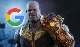 Imagem de Thanos e a manopla é um novo Easter Egg Do Google