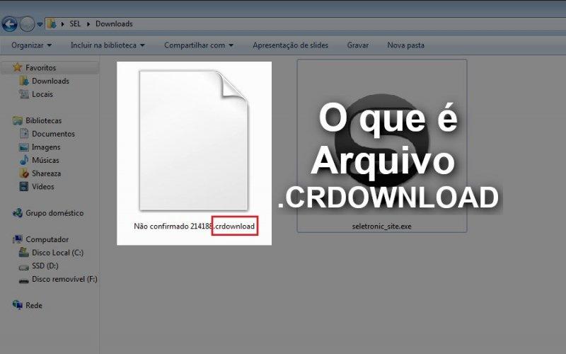 O que é um arquivo. Crdownload? E para que serve? | seletronic.