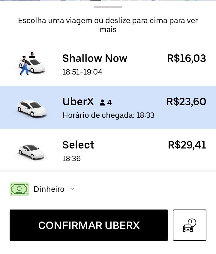 shallow now no app da uber
