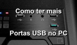 Imagem de Como ter mais portas USB no Computador