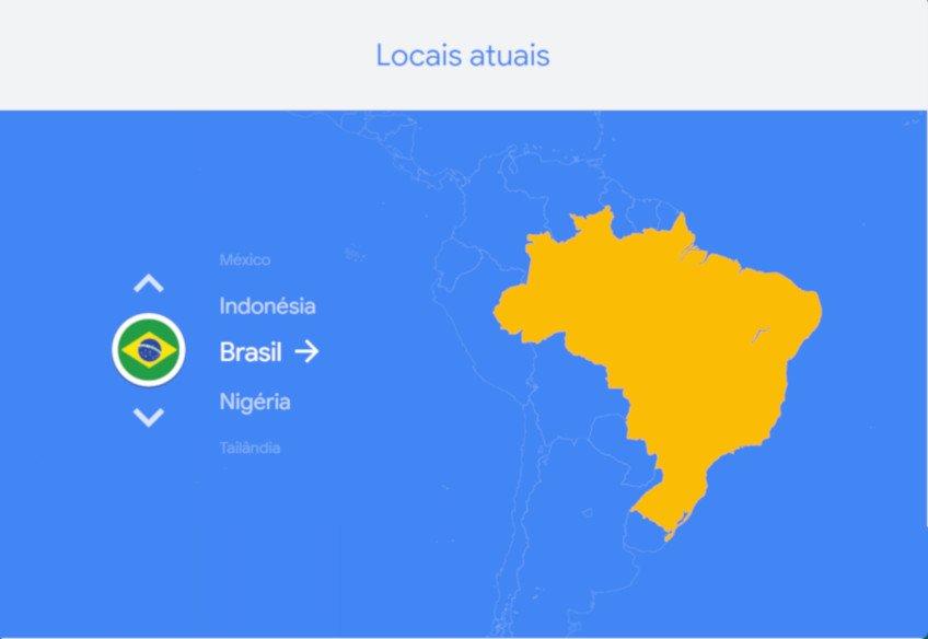 Localizador de Wi-fi Google Station