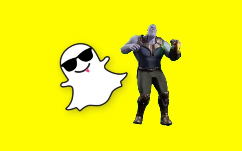 Imagem de Como usar o filtro do Thanos dançando no Snapchat