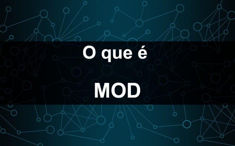 Imagem de O que é Mod?