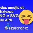 imagem de Como obter todos os ícones (emojis) do WhatsApp em PNG e SVG pelo APK