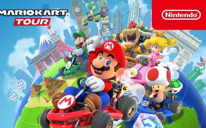 Imagem de Mario Kart Tour está disponível para pré cadastro
