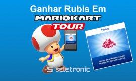 Imagem de Como ganhar muitos rubis em Mario Kart Tour!