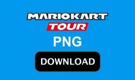Imagem de Baixar a logo de Mario Kart Tour PNG oficial com fundo Transparente