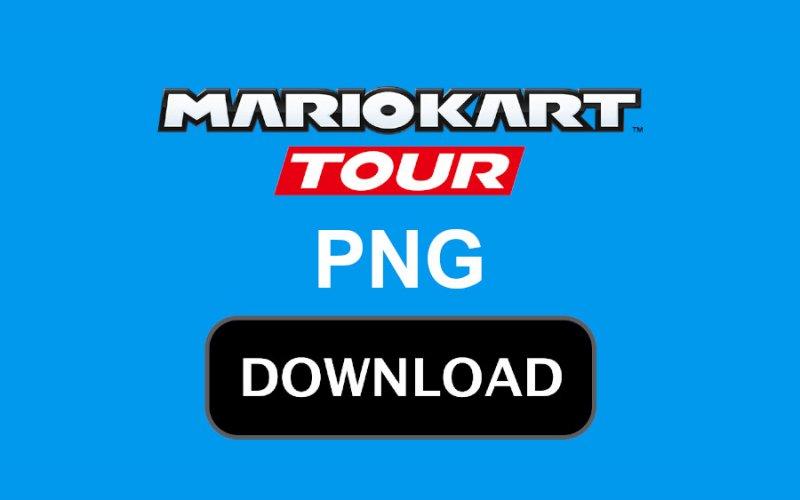 Baixar A Logo De Mario Kart Tour Png Oficial Com Fundo