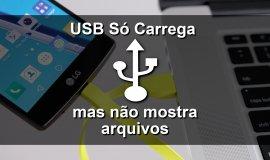 Imagem de Como resolver: USB só carrega no Android mas não mostra arquivos