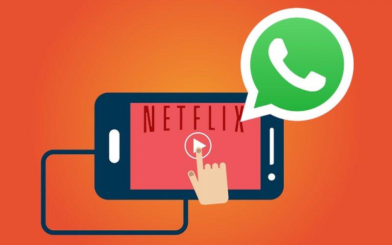 Imagem de WhatsApp começa a reproduzir vídeos de trailers da Netflix direto no app