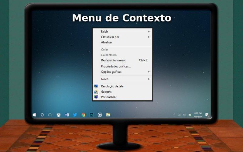 Imagem de O que é o menu de contexto do Windows?