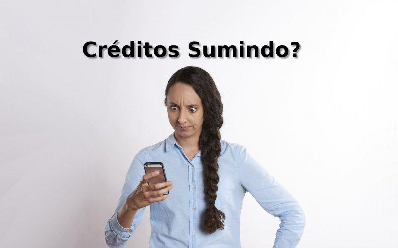 Imagem de Créditos sumindo? Veja por que e como resolver!
