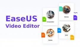 Imagem de EaseUS Vídeo Editor é fácil de usar e cria videos profissionais