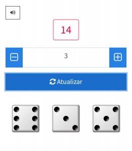 Exemplo com 2 dados