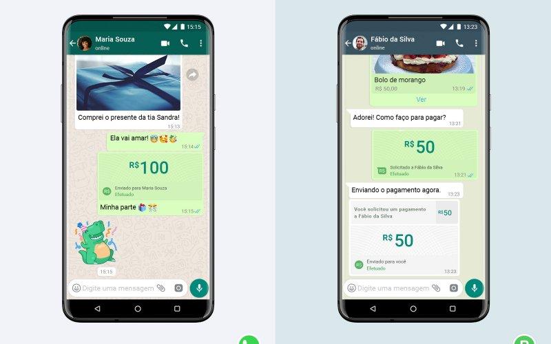 Imagem de WhatsApp agora permite enviar dinheiro ou efetuar pagamentos pelo App